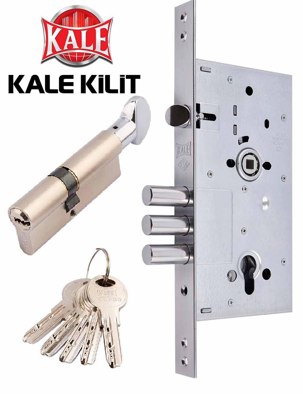 циліндровий замок kale 252 на дверях серии КТ1