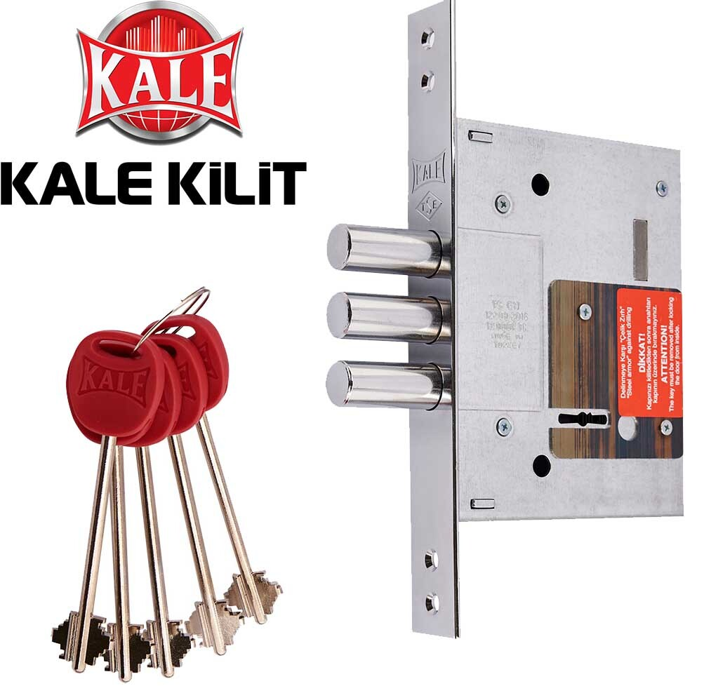 сувальдный замок kale 257 на дверях серии КТ1
